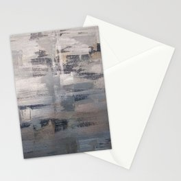 Silver and Blue Stationery Cards