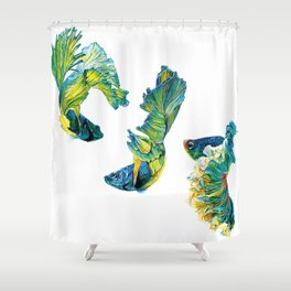 Ocean Dream- Betta Fish Shower Curtain