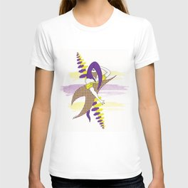 Calligraphy Girl T-shirt