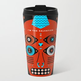 TAROT. - Le Mat Metal Travel Mug