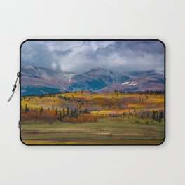 Fall in the Rockies Laptop Sleeve