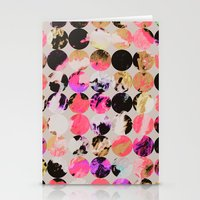 circles Stationery Cards featuring Circles by Georgiana Paraschiv
