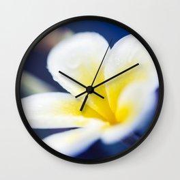 Wild Blue Morning Wall Clock