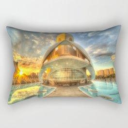 Opera Sunset Rectangular Pillow