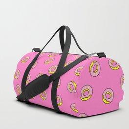 Donuts Pink Duffle Bag