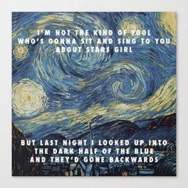 Stuck on the Stars Canvas Print