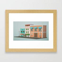 16S B Framed Art Print