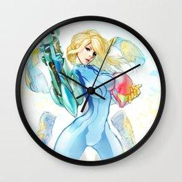 Zero Suit Samus Wall Clock