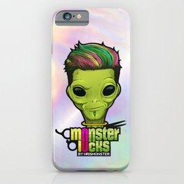 Monster Locks - Iridescent Logo iPhone Case