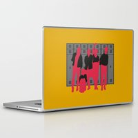 the breakfast club Laptop & iPad Skins featuring The Breakfast Club by FilmsQuiz