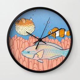 Fish Day Wall Clock