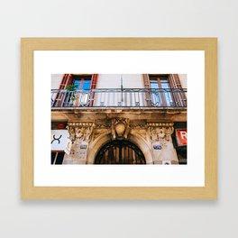 Eixample - Barcelona, Spain - #26 Framed Art Print