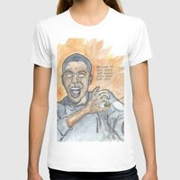 oitnb T-shirts featuring Poussey OITNB by Ashley Rowe