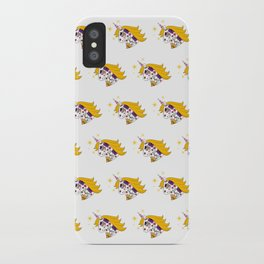 Sugar Skull Unicorn Logo - Phone Case iPhone Case