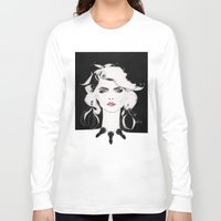 blondie Long Sleeve T-shirts featuring Blondie by Christopher Morris