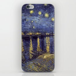 Vincent Van Gogh Starry Night Over The Rhone iPhone Skin
