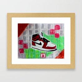 Retro 1 Framed Art Print