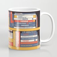 library Mugs featuring W.A. Library by Derek Eads