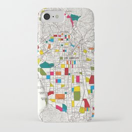 Los Angeles Streets iPhone Case