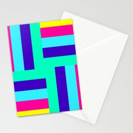 colour pattern modern home design Stationery Cards