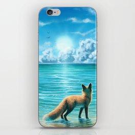 Caribbean Blue iPhone Skin
