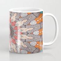 mandala Mugs featuring manDala by Monika Strigel®
