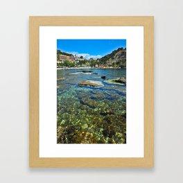 Taormina, Sicily I Framed Art Print