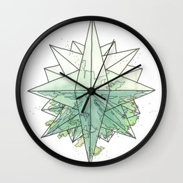 C.O.M.P.A.S.S. No. 6 Wall Clock