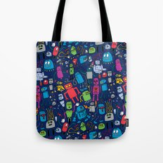 Robots Forever! Tote Bag