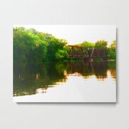 Leidel's Bridge Metal Print