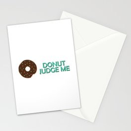 Donut Judge Me Stationery Cards