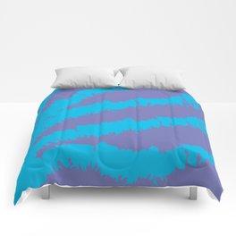 Blue-Purple Pattern Comforters
