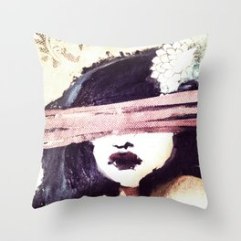 Portrait 117 Throw Pillow