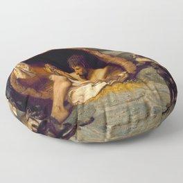 Jean-Léon Gérôme Diogenes - Philosophy Floor Pillow
