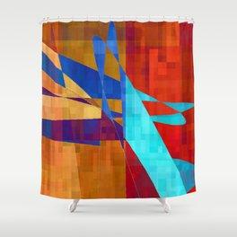 flash flood Shower Curtain