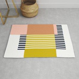 Marfa Abstract Geometric Print Rug