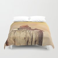balance Duvet Covers featuring Balance    by LebensART Photography