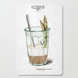 La Cuisine Fusion - Aspargus Latte Cutting Board