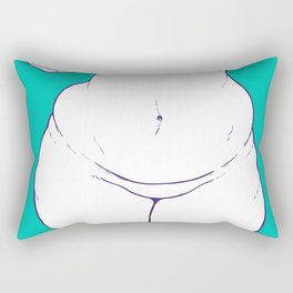 Hourglass Rectangular Pillow
