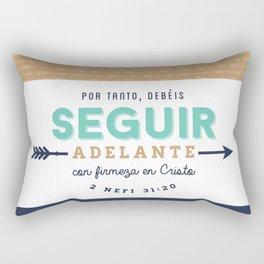 Seguir Adelante {Flechas} Rectangular Pillow