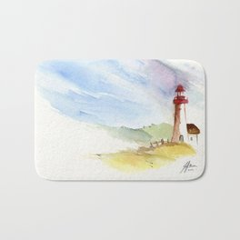 Lighthouse Impressions Bath Mat