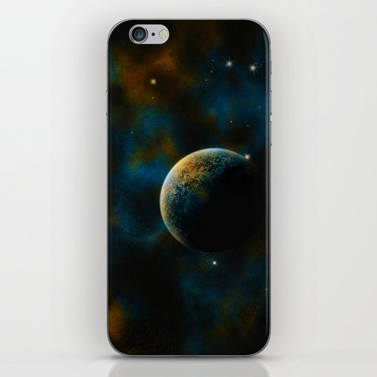 Deus Nebula iPhone & iPod Skin
