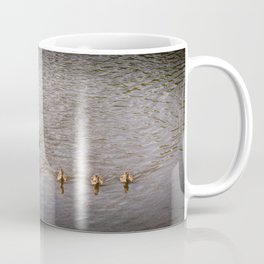Mother Duck with Ducklings Coffee Mug