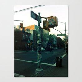 New York City- Sign Post Canvas Print