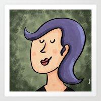New Hairdo Art Print