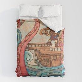 Simbad: Monsters of deep sea. Duvet Cover