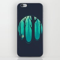 lonely iPhone & iPod Skins featuring Lonely Dream by Robson Borges