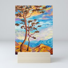 Cypress Trees Mini Art Print