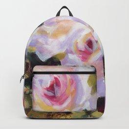 White Rose Garden Backpack
