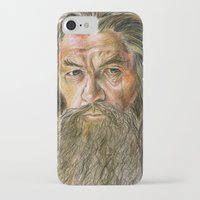 gandalf iPhone & iPod Cases featuring Gandalf by Labani